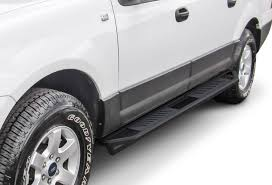 Truck Armor Side Steps - 2 Inch Black Square Tube Style - 2003-2017 ...