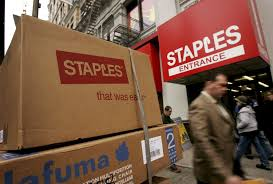 The Office The Merger The Idea Of A Staples Office Depot Merger Sent Shares In Both