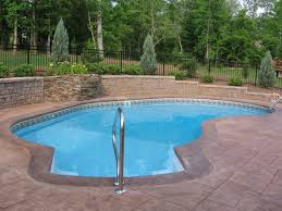 Backyard Swimming Pool Decoration Enchanting Backyard Landscaping Ideas Swimming Pool And