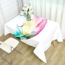 decorative table cloth decorative table cloth rectangular party banquet outdoor tablecloth home decor table cover color