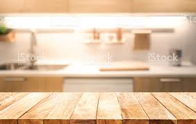 table top background hd. wood table top on blur kitchen room interior background stock photo hd