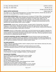6 Military To Civilian Resume Template New Hope Stream Wood