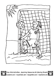 Small Picture Coloring Pages Soccer Coloring Coloring Pages
