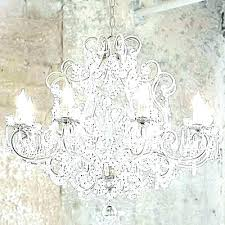white shabby chic chandelier mini fancy photo 1 small uk