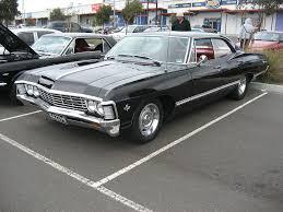 1967 Chevrolet Impala 4 door Hardtop - Supernatural (série ...