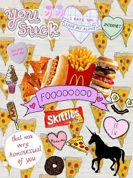 fast food collage tumblr. Modren Tumblr Collage Fashion Food Fun Pop Quotes Really Cool Tumblr With Fast Food Collage Tumblr E
