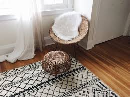area rug in bedroom