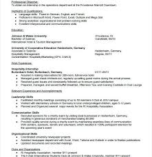 Special Event Coordinator Resume Free Event Planner Resume Sample