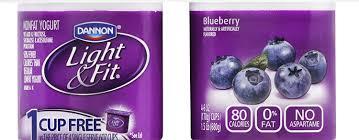 Dannon Light And Fit Greek Yogurt Blueberry Nutrition Dannon Light Fit Greek Blueberry Nonfat Yogurt 4 Ct