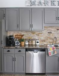 painting kitchen cabinets before after lovely our kitchen cabinet makeover kassandra dekoning