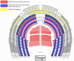 Teatro Alla Scala Seating Chart Teatro La Fenice In Venice Where It Is Its History How To