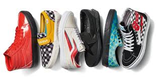 vans is dropping a david bowie collection and yes patent leather sneakers are involved