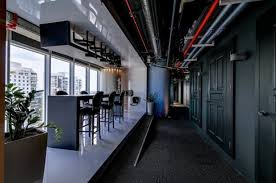google tel aviv officeview. Google Tel Aviv Office Auditorium Bar Officeview