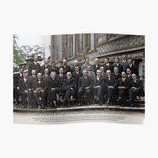 With names: 5th Solvay Conference on Quantum Mechanics, 1927.