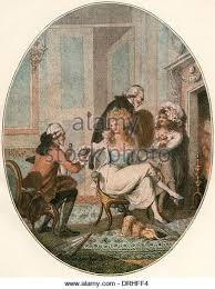 french women th century stock photos french women th century  the french fireside after an 18th century engraving stock image