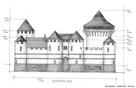 architecture building drawing.  Drawing Gudelonu0027s South Elevation  Gudelon Drawing Florian Renucci  Intended Architecture Building Drawing I