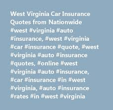 Nationwide Car Insurance Quote Adorable West Virginia Car Insurance Quotes From Nationwide West Virginia