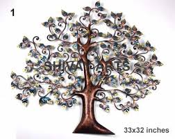 contemporary metal iron tree wall decor wall hanging
