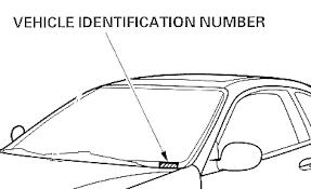 Honda Vin Identification Chart Honda Online Store Enter Your Vehicle Identification