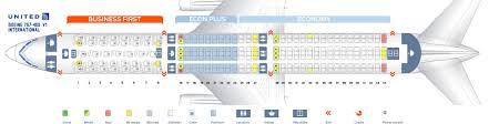 United Plane Seating Chart Seat Map Boeing 767 400 United Airlines Best Seats In Plane