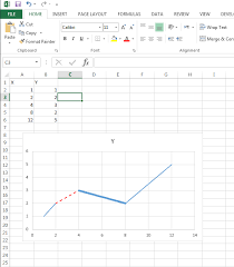 Xlsxwriter Modifying Parts Of A Line In A Scatter Chart