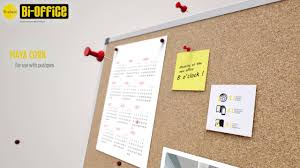 office cork boards. Bi-Office Cork Boards Aluminium Frame Office