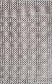 ecarpetgallery hand knot shimmer hudson grey silk rug 5 0 x 8 0