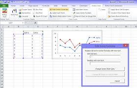 Change Series Formula Improved Routines Peltier Tech Blog