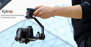 Kylin M: <b>3</b>-<b>axis stabilizer</b> for lightweight <b>cameras</b> | Indiegogo