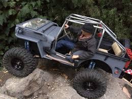Jeep Rock Crawler Rc Willys Jeep Test 1 Rock Crawling Backyard Scale Trail