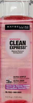 maybelline clean express clic eye makeup remover 4 fl oz walmart