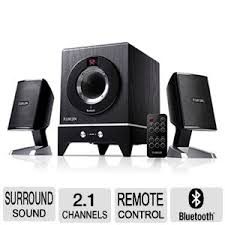 sound system with bluetooth. dunherm 2.1 channel bluetooth sound system with