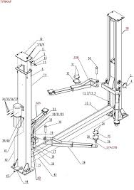 2 post lift wiring diagrams installation manual grove scissors site parts breakdown replacement for 2 post com rotary car lift wiring diagram wheelchair installation manual