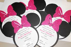 Pink And Black Minnie Mouse Decorations Minnie Mouse 2nd Birthday Party