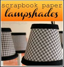 re cover chandelier shades with sbook paper