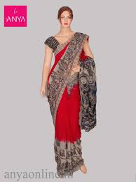 Best Designer Sarees In Coimbatore Anya Boutique Provides Best Collection Of Kalamkari Cotton