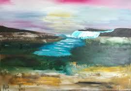 abstract painting gift idea acrylic art long walk 10 paintings abstract daily life