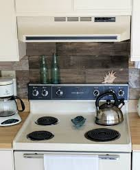 Before After Reclaimedwood Kitchen Backsplash DesignSponge Extraordinary Wood Stove Backsplash Creative