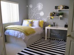 Teen's Lavender and Yellow Bedroom