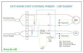 wiring ac motor diagram wiring wiring diagrams daikin out door 1 hp