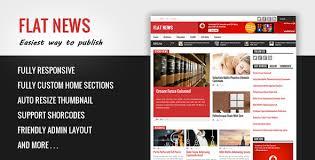 e magazine templates free download flat news blogger templates free download template