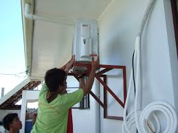 our philippine house project air conditioning my philippine life installing the outdoor unit