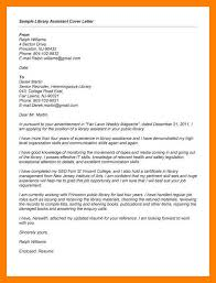 Cover Letter For Library Assistant Job 9 10 Librarian Cover Letter Sample Archiefsuriname Com