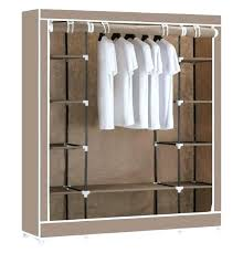 hanging canvas shelves for closet with drawers