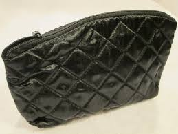 Black Quilted Cosmetic Bag | The Sourcery USA & Black Quilted Cosmetic Bag (2) Adamdwight.com