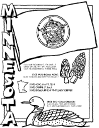 Small Picture Minnesota coloring page but all 50 states included Teaching