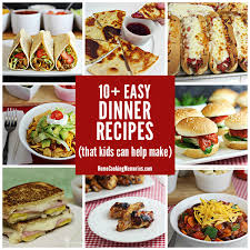 Food is more exciting when you help make it. 10 Easy Dinner Recipes Kids Can Help Make Home Cooking Memories