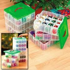 Click to buy Snapware Christmas ornament storage boxes Ornament Storage Boxes Make Organizing A Snap!