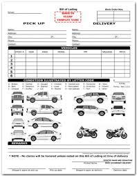 sample bol amazon com vehicle transport bill of lading form blank purchase
