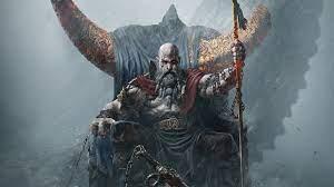 Kratos God of War Throne Wallpaper 4K ...